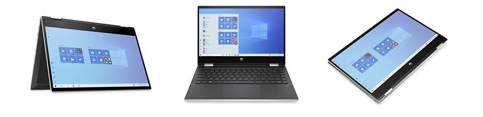 """HP Pav X360 14-dw0534nd 14"""" FHD / i3-1055G1 / 8GB / 256GB"""
