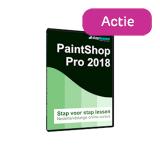 Actie: Staplessen PaintShop Pro 2018