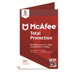 McAfee Total Protection - 5 apparaten