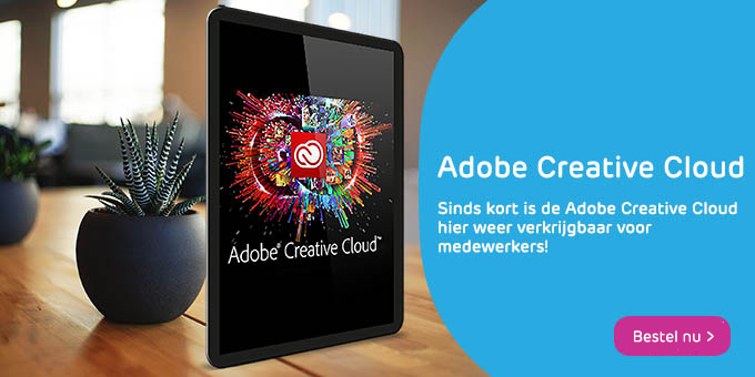 Adobe Creative Cloud banner 2019