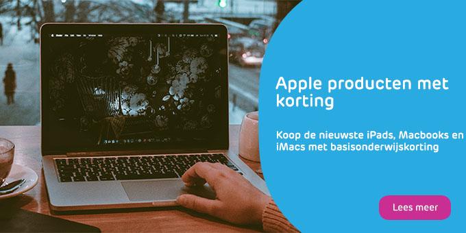 Voordelige iPads, MacBooks en iMacs