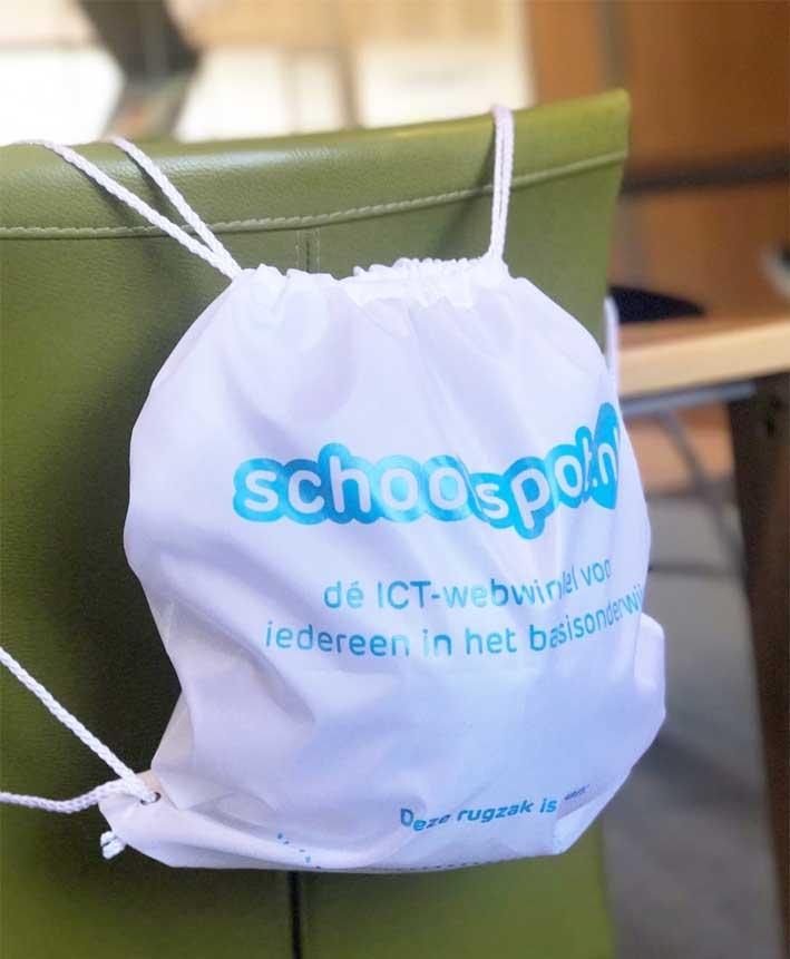 Schoolspot rugzakje