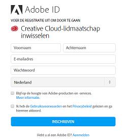 adobe creative cloud installeren